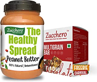 Zucchero 100% Natural Peanut Butter, Unsweetened, Creamy, 2.5 Kg