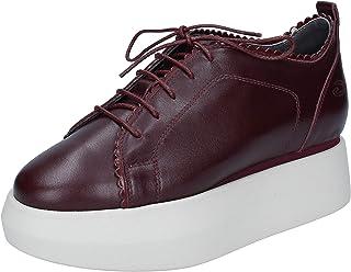 GUARDIANI SPORT Sneaker Donna Pelle Rosso
