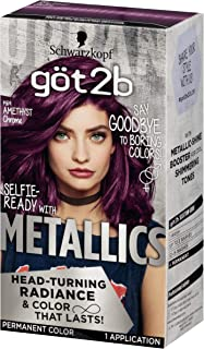 Got2b Metallic Permanent Hair Color, M69 Amethyst Chrome