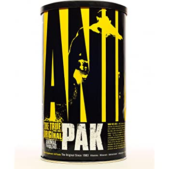Animal Pak - The Complete All-in-one Training Pack - Multivitamins, Amino Acids, Performance Complex and More - For Elite Athelets and Bodybuilders - 44 Packs