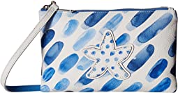 Blue Water Crossbody Pouch