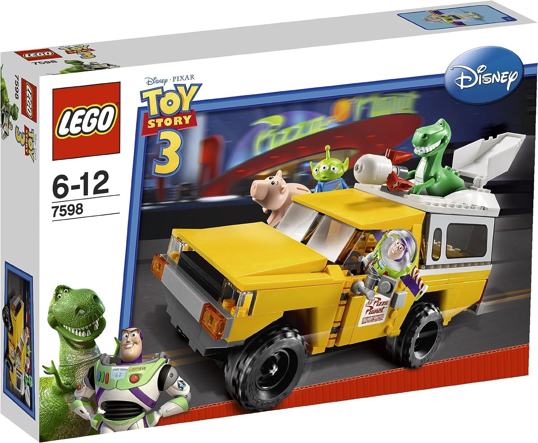 tienda de descuento LEGO Juguete Story - La Cocherera en en en la camioneta de Pizza Planet [versión en inglés]  comprar descuentos