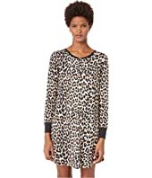 Kate Spade New York - Printed Sleepshirt with Eyemask