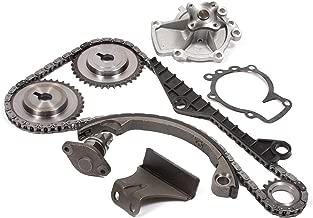 Evergreen TK3028WPT Fits Nissan Infiniti SR20DE Timing Chain Kit w/Water Pump