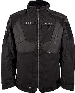 AMABILIS Men's Responder Tactical Jacket, Black