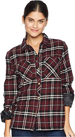 Plaid About You Long Sleeve