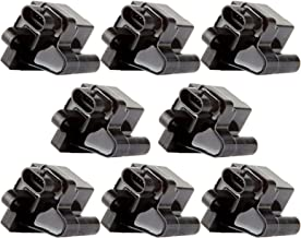 CTCAUTO Set of 8 Ignition Coils Compatible with Chevy GMC Hummer Mercruiser Workhorse 1999-2007 Replacement for UF271 C1208