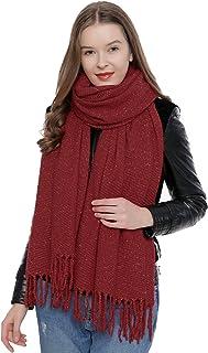 af80818abddc7 DonDon Grande écharpe d'hiver douce pour femme Oversize XXL 190 x 60 cm