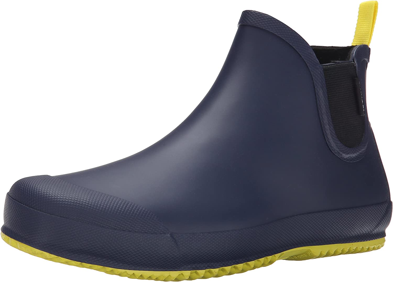 TRETORN Men's BO Rain Shoe Navy Yellow US Phoenix Mall 7 Quantity limited EU 39 D
