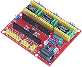 NOYITO CNC Shield V4 Engraving Machine Kit Expansion Board Compatible for Arduino Nano