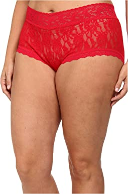Plus Size Signature Lace Solid New Boyshort