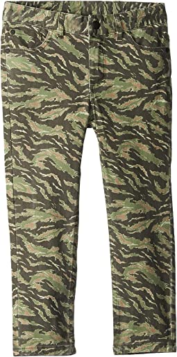 Tiger Camo Print Hawk Slim Fit Pants (Toddler/Little Kids/Big Kids)