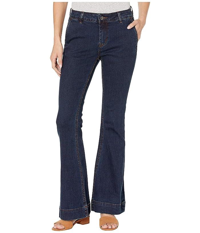 Grace in LA Easy Fit Trouser Jeans in Dark Blue (Dark Blue) Women's Jeans