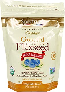 SPECTRUM Essential Flaxseed Grnd ORG, 14 Ounce