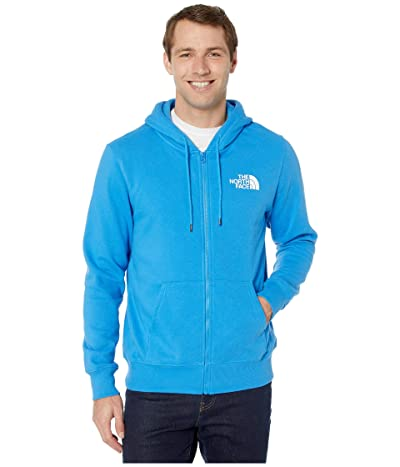 The North Face Half Dome Full Zip Hoodie (Clear Lake Blue) Men