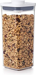 NEW OXO Good Grips POP Container - Airtight Food Storage 1.7 Qt - Square - Dried Beans 11233900UK
