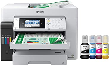 $999 » Epson EcoTank Pro ET-16600 Wireless Wide-Format Color All-in-One Supertank Printer with Scanner, Copier, Fax and Ethernet ...