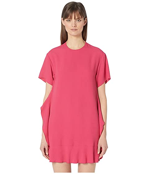 RED VALENTINO Abito Crepe Envers Satin Dress