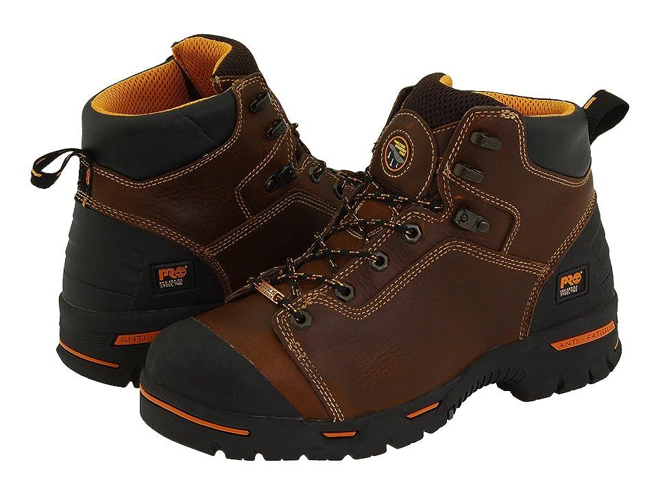 Timberland PRO Endurance PR 6 Waterproof Steel Toe (Brown) Men
