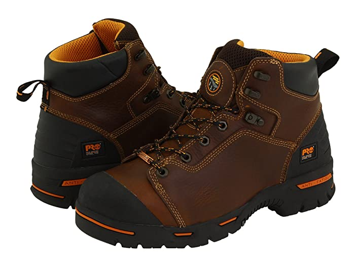 Timberland PRO  Endurance PR 6 Waterproof Steel Toe (Brown) Mens Work Lace-up Boots