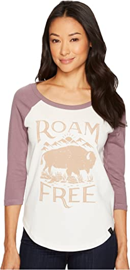 United By Blue - 3/4 Roam Free Baseball Tee