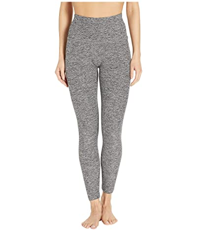 Beyond Yoga Spacedye High Waisted Midi Leggings (Black/White) Women