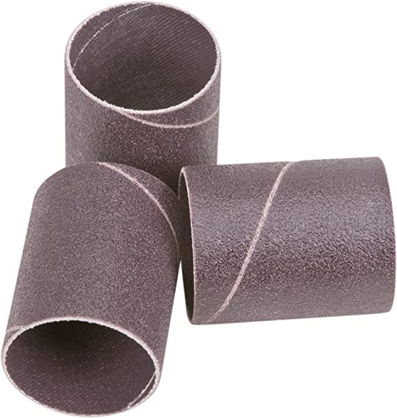 Shop Fox D1400 1//4 Diameter by 5 Aluminum Oxide Hard Sleeve 60 Grit