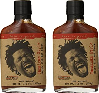 Pain Is Good Jamaican Style Hot Sauce, 7.5 Ounce (pack of 2)