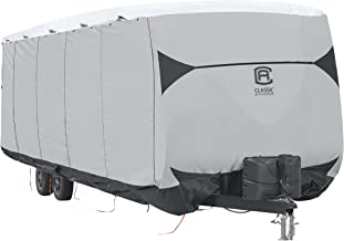 Classic Accessories SkyShield RV Travel Trailer Cover, For 24-27' L, 118
