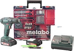 Metabo 602207880M Mobile Taller Edition M Juego de atornillador inalámbrico (batería, cargador, accesorios) + pica Marcador, minas, DIN A6bolck