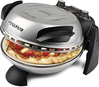 Four à pizza G3 Ferrari Delizia, 1200 W, 1 litre, 0 décibel, acier inoxydable, Argent (Classe d'efficacité énergétique A)