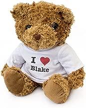 NEW - I LOVE BLAKE - Teddy Bear - Cute Soft Cuddly - Gift Present Birthday Xmas Valentine