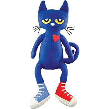 MerryMakers Pete the Cat Plush Doll, 14.5-Inch
