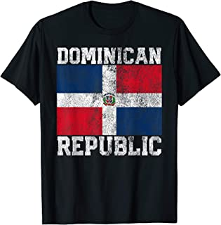 Dominican Republic Flag National Pride Roots Country Family T-Shirt