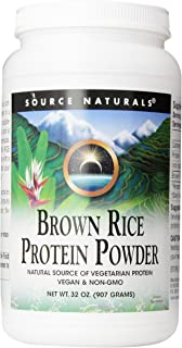 Source Naturals Brown Rice Protein Powder, 32 Ounce