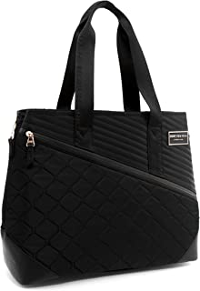 MARC NEW YORK Mulsanne Travel Tote, black, One Size