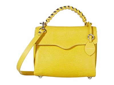 Rebecca Minkoff Chain Satchel (Sunflower) Handbags