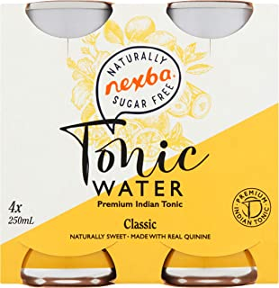 Nexba Sugar Free Classic Tonic Water 250ml (24 Pack) (Classic)