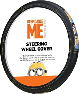 Plasticolor 006766R01 Universal Minions Stacked Steering Wheel Cover