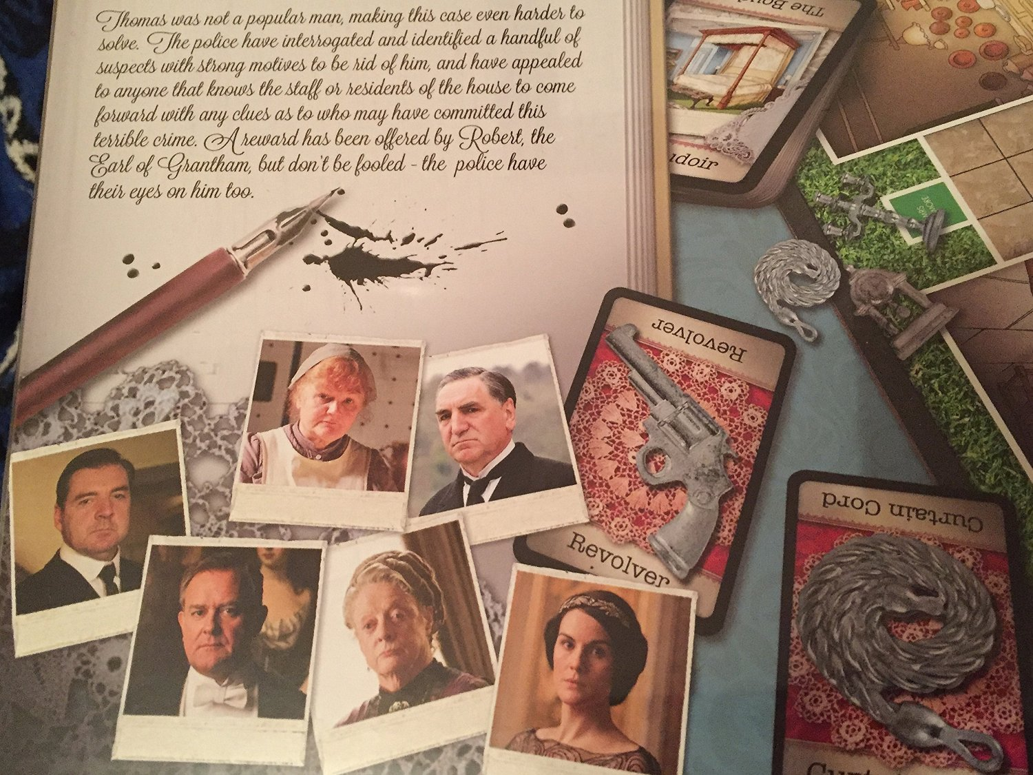 Cluedo - Downton Abbey Edition by Cluedo: Amazon.es: Juguetes y juegos