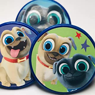 Puppy Dog Pals Cupcake Topper Rings Party Favors Package of 20 from Blue Fox Baking