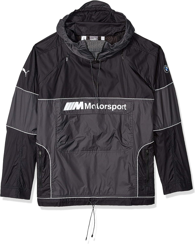PUMA Men's Bargain sale BMW Motorsport Jacket React Black S Complete Free Shipping