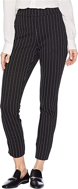 Window Pane Checked Knit Pants