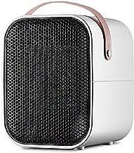 Portátil Calefactor Eléctrico, Mini Calentador de Ventilador, Personal Ventilador Calefactor Eléctrico PTC Cerámica, Oscilación Automática Calefactor Aire Frio y Caliente para Hogar Oficina/1500W