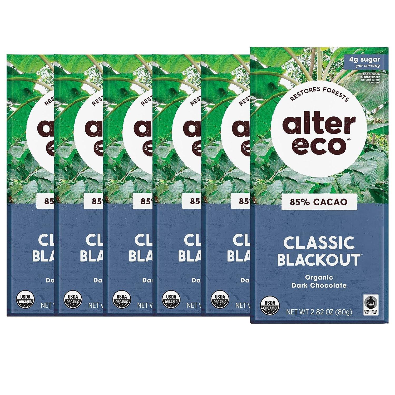 Alter OFFicial shop Eco Dark Chocolate Albuquerque Mall Bars Fair O Trade Cocoa Pure