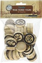 Vintage Collection Bottle Cap Bingo Chips 30/Pkg-Black
