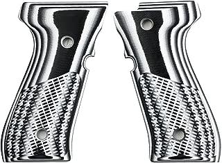 StonerCNC Beretta 92 Gun Grip G10 Half Checker Fits 92FS/96 M9 Series