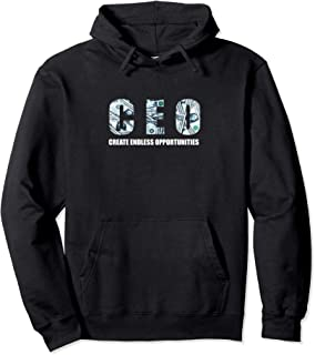 CEO,000,000 Success Growth Mindset Motivational Startup CEO Pullover Hoodie