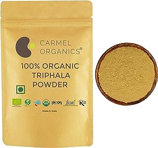 Sponsored Ad - USDA Organic Triphala Powder for Digestive Support | Non GMO | Gluten Free | 1 Lbs Resealable Kraft Bag