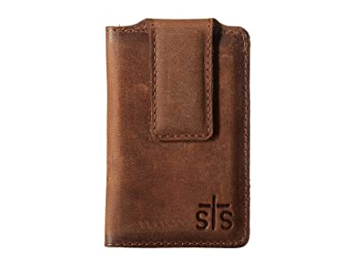 STS Ranchwear The Foreman Money Clip (Brown Leather) Wallet